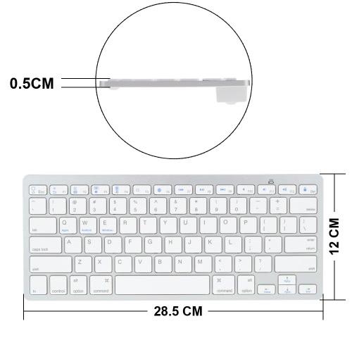 BT tastiera senza fili pieghevole pieghevole magnetica dell'unità di elaborazione della cassa del cuoio del supporto del basamento della copertura di Pennino OTG pellicola protettiva per Samsung Galaxy Tab A T350 / P350 / T355