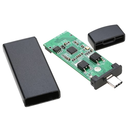 42mm NGFF M.2 2 Lane SSD z USB 3.1 Type-C-C External USB Box Obudowa PCBA Converter Adapter kart Flash Disk dla nowego MacBooka 12