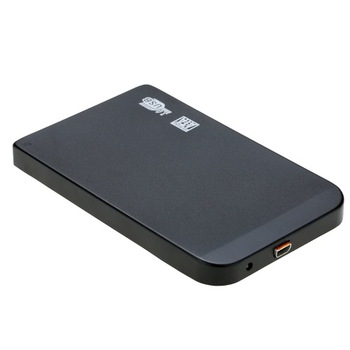 Slim Super Speed 6Gbps Aluminum 2TB 2.5 SATA SSD HDD Hard Disk Drive to USB 3.0 Converter Adapter Card External Enclosure Case Caddy + USB Cable, TOMTOP  - buy with discount
