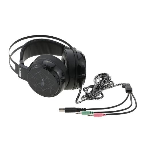 Słuchawki stereofoniczne z mikrofonem