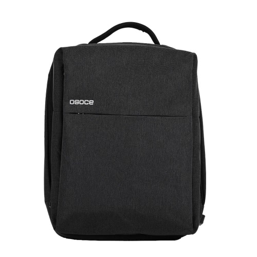 OSOCE S7 Computer Backpack Laptop Tablet PC Bag resistente à água com porta de carga USB para até 15,6 polegadas Laptop Black