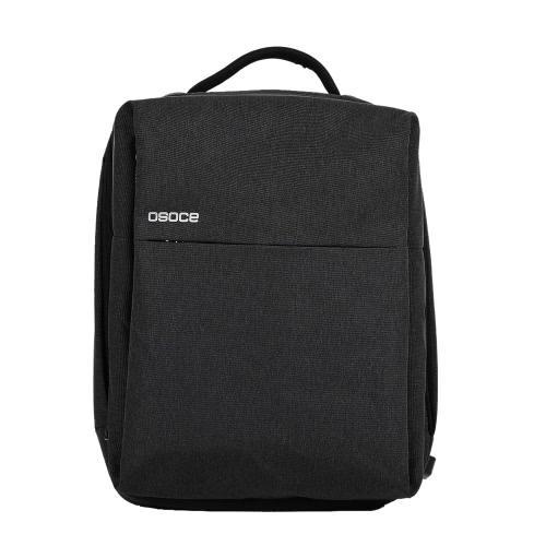 OSOCE S7 Komputer Plecak Laptop Tablet PC Worek wodoodporny z portem do ładowania USB Port do laptopa o przekątnej do 15,6 cala