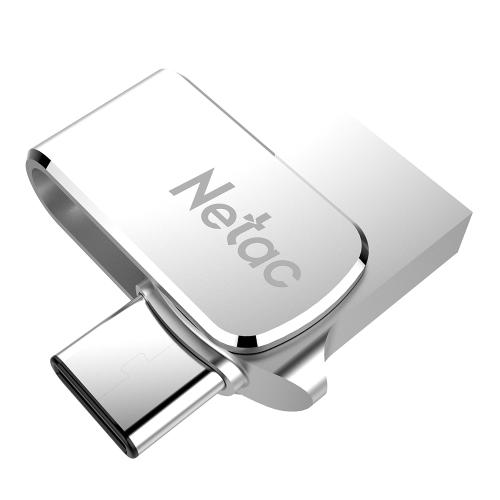 Netac U780C 32G USB3.0 Tipo-C Interface dupla para Android OTG Memory Storage Memory Stick de alta velocidade