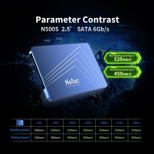 Netac N500S 2.5 Inch 240GB ...