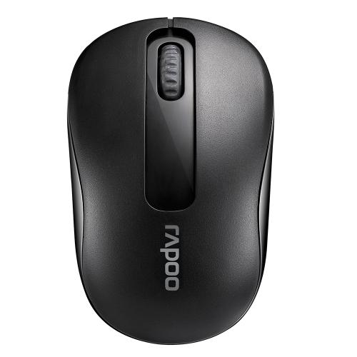 Mouse portatile ottico portatile del silicone senza fili di Rapoo 2.4G 1000 DPI per computer portatile del PC di Mac