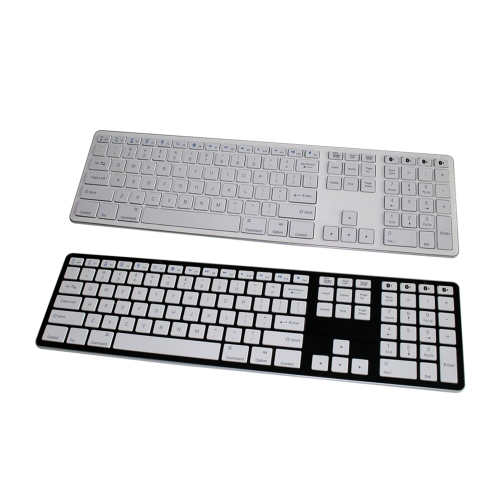Universal Slim BT 3.0 Keyboard Cordless for Windows Computer PC iOS Android Smartphone