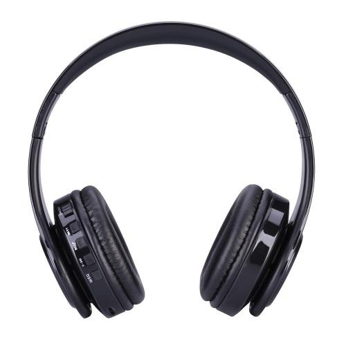 K-812 Casque de jeu avec écouteurs sans fil Pliable Stéréo Active annulation de bruit Casque extensible