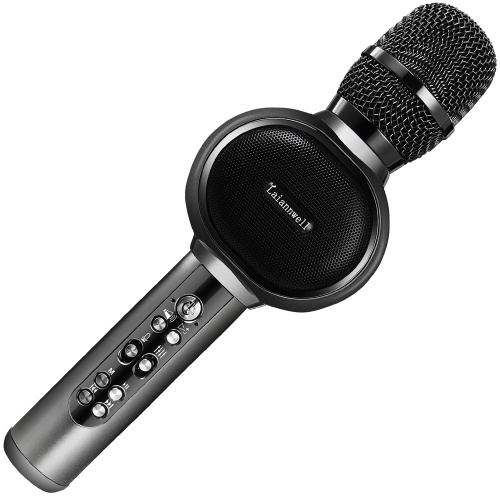 Laiannwell Wireless BT Karaoke Microphone USB Home KTV Player Mic Speaker