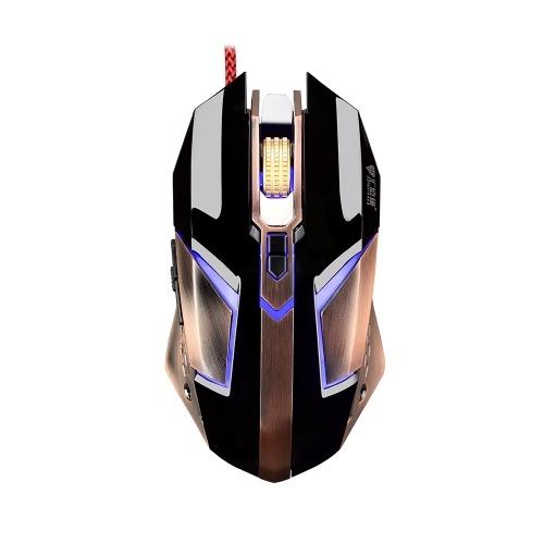 Mouse da gioco cablato USB professionale