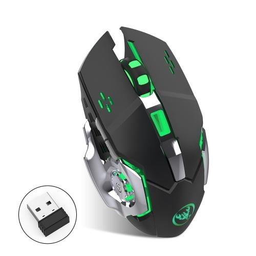Mouse da gioco wireless ricaricabile HXSJ M70GY