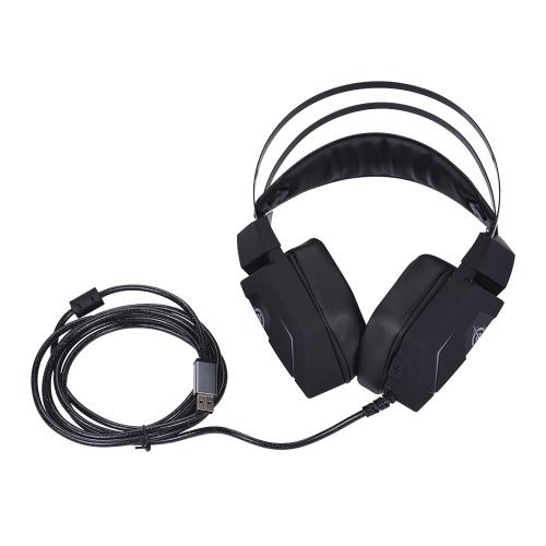 Magic-Refiner Jogo Headphone 7.1 Virtual efeito estéreo para jogos de computador PC