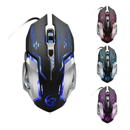 G815 Mouse Wired Gaming Mouse 6 Buttons 3200 DPI