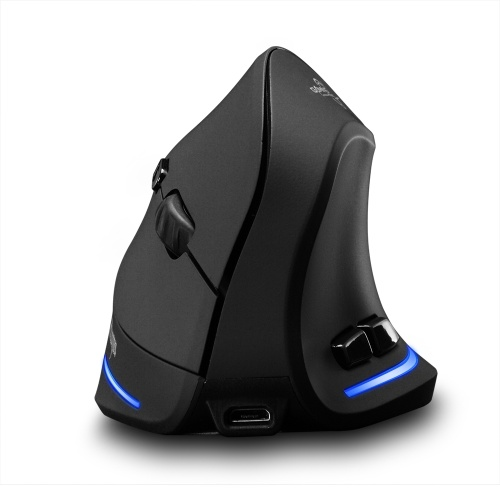 F-35 Mouse Wireless Vertical Mouse 2400 DPI
