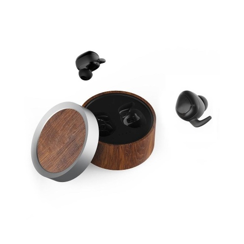 Wireless BT Earbud Mini Earphone Sports Earphone Compact and Comfortable HD Sound (Black)