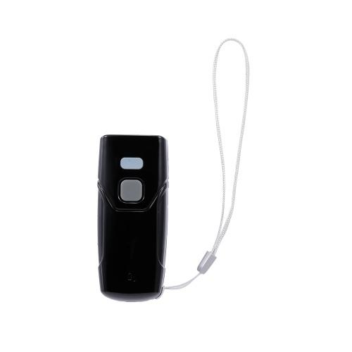 QR Sem Fio Barcode Scanner BT & 2.4G Sem Fio de Conexão Portátil Codebar / QR / Data Matrix / PDF417 Scanner para Laptop / Telefones Móveis