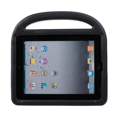 Caso EVA protetora para iPad 2/3/4 Silicone Shockproof Case Capa Protector para Crianças (Black)