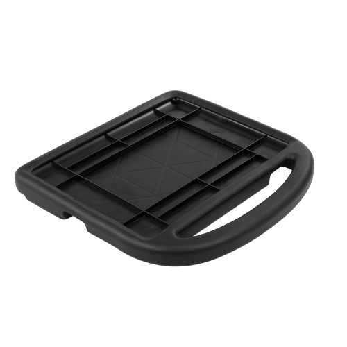 Protective EVA Case for iPad 2/3/4 Silicone Shockproof Handle Case Screen Protector for Kids (Black)