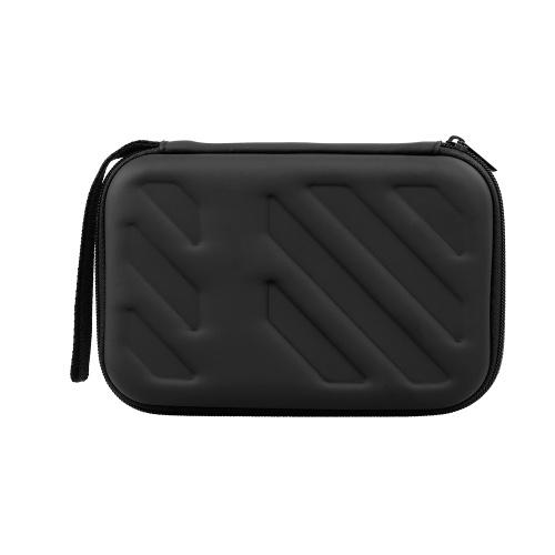 Externes Festplattengehäuse Stoßfestes EVA-Gehäuse 2,5-Zoll-Festplatte mit Netztasche und weicher Innentasche aus Stoff für Reise- und Büroanwendungen