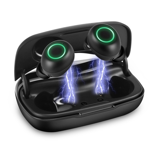 Fone de ouvido TWS fone de ouvido sem fio Bluetooth 5.0