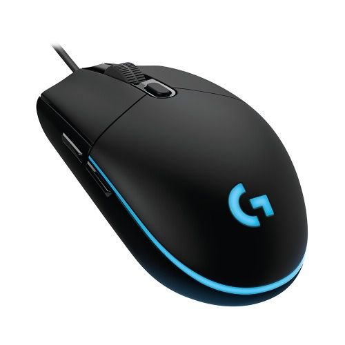 Logitech G102 Wired Gaming Mouse RGB Mice Optical 8000DPI 16.8M Color LED   Customizing 6 Programmable Buttons (Black)