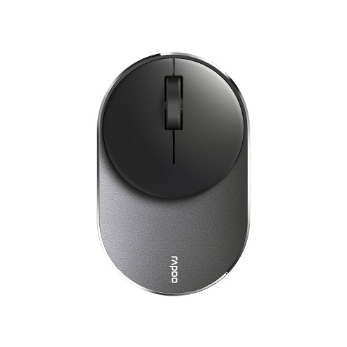 Rapoo M600 Mini Mouse 1300DPI Three Modes Bluetooth 3.0/4.0 2.4GHz Wireless Mice Three Device Connection Black