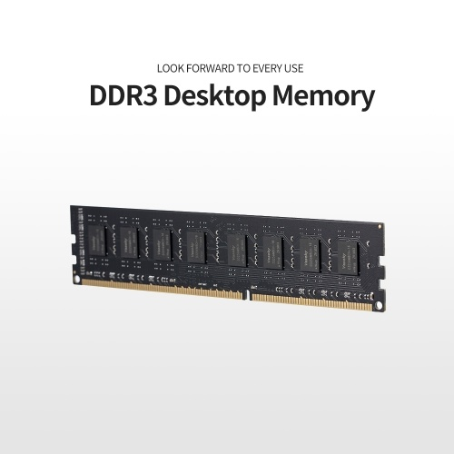Vaseky 4G Memory DDR3 1333 4G Desktop Memory High Speed Read/Write Noiseless Desktop Memory DDR3 1333MHz