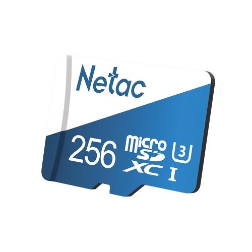 Netac P500 Overseas Version Class 10 Micro SDXC TF Flash Memory Card Data Storage 80MB/s 256GB