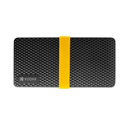 Мобильный твердотельный накопитель HD SSD серии KODAK X200 с низким энергопотреблением PSSD Быстрое считывание и запись с низким уровнем шума Мобильный твердотельный накопитель HD SSD серии KODAK X200 с низким энергопотреблением Быстрое чтение и запись с низким уровнем шума 1 ТБ