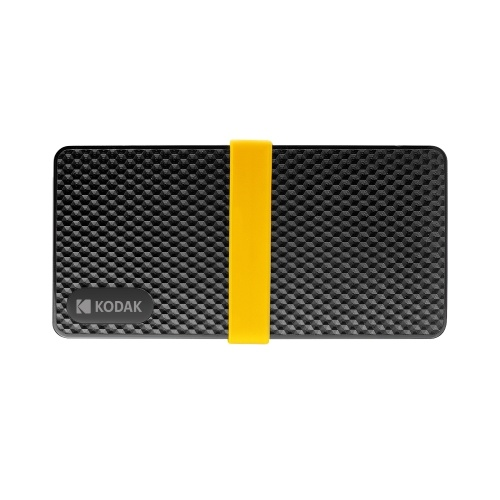 KODAK X200 Series HD SSD Mobile Solid State Drive PSSD Low Power Consumption Rapid Read & Write Low Noise 256GB