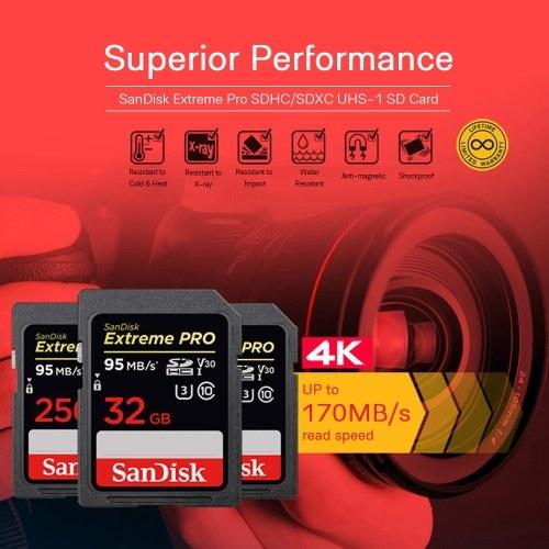 Оригинальный SanDisk Extreme Pro SDXC UHS-1 32 ГБ фото