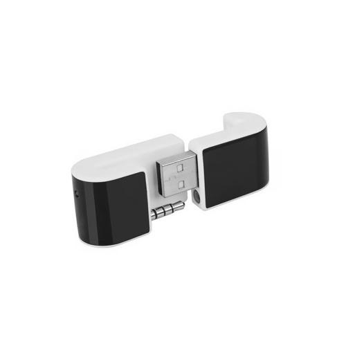 2.4G Multifunktions Wireless Presenter Wireless Air Mouse PPT Fernbedienung Presenter PR-02 Kompatibel mit dem iPhone Schwarz