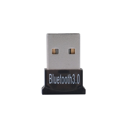 BT USB Dongle USB 2.0 Adaptador BT BT3.0 + EDR Transmissor receptor de áudio para Windows XP / 7/8/10 / Vista Preto