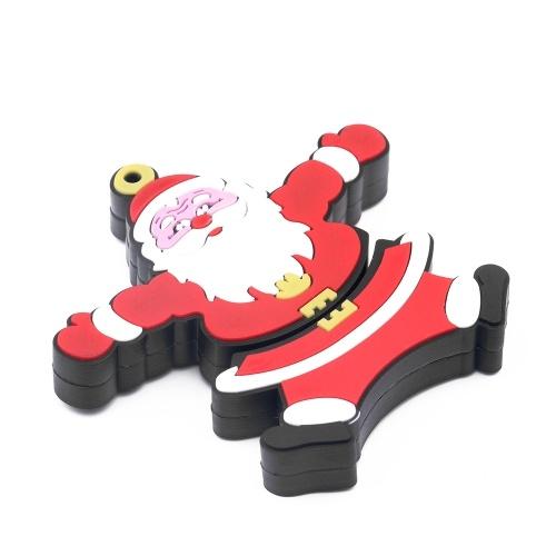 Creativo Christmas Series U Disk Portable USB 2.0 Trasmissione ad alta velocità U Disk Babbo Natale U Disk 128 GB
