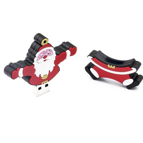 Creative Christmas Series U Disk Portable USB 2.0 High-speed Transmission U Disk Santa Claus U Disk 32GB