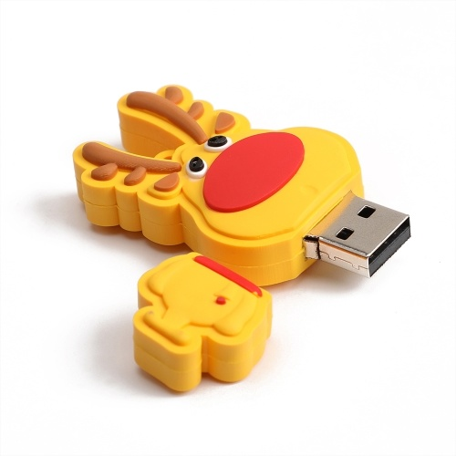 Creative Christmas Series U Disk Portable USB 2.0 High-speed Transmission U Disk Christmas Deer 32GB
