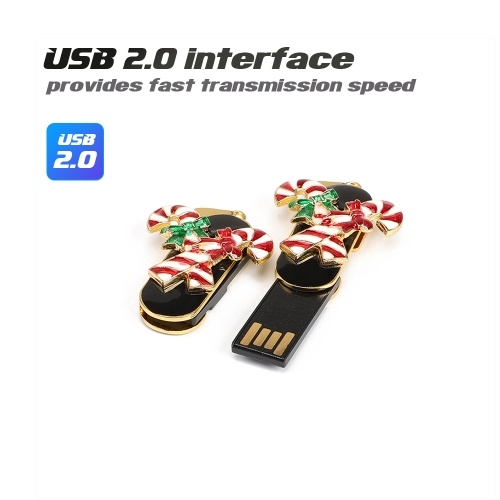 Creative Christmas Series U Disk Portable USB 2.0 High-speed Transmission U Disk Crystal Candy 32GB