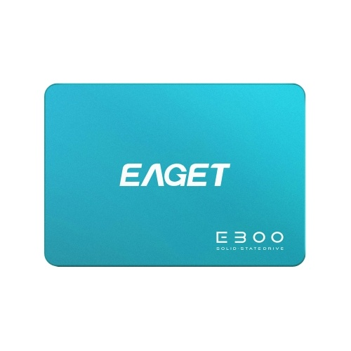 EAGET E300 SSD 2.5inch SATA 3.0 120GB Solid State Drive High Speed Reading Writing SSD for Laptop Desktop Computer