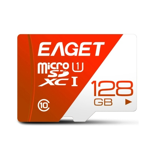 EAGET T1 TF Card 128GB TF Memory Card U1 C10 High Speed Large Capacity Memory Card for Driving Recorder Monitoring Devices