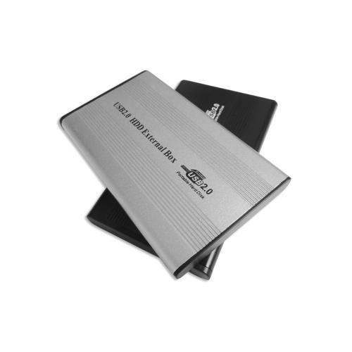 USB2.0 to IDE Жесткий диск 2.5 '' IDE HDD Корпус Портативный жесткий диск Box Жесткий диск из алюминиевого сплава Черный фото