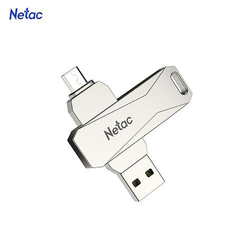 Netac U381 128 GB Micro USB + USB Doppia interfaccia Flash Drive Plug & Play Espansione memoria del telefono U Disk