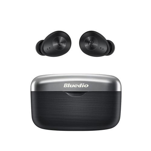 Bluedio FI Auricolare Bluetooth TWS Cuffie wireless Cuffie sportive impermeabili Cuffie wireless in-ear Nero