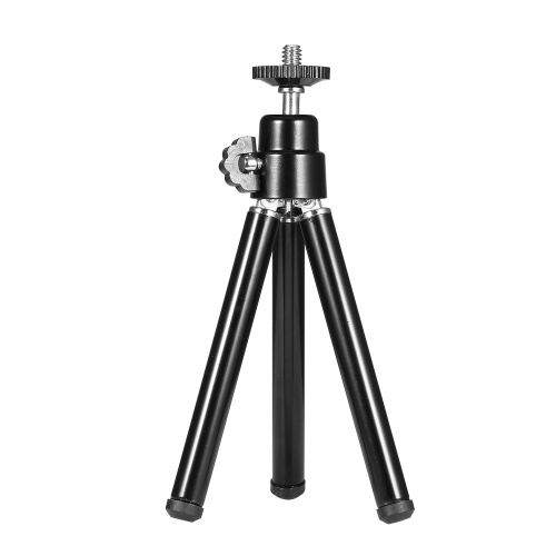 Portable Mini Webcam Tripod for Smartphone Lightweight Flexible Web Camera Desktop Support Stand Phone Holder Table Stand