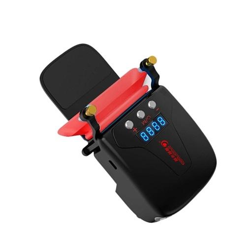 COOLCOLD K36 USB Laptop Ventola di raffreddamento Notebook Dissipazione del calore Radiatore Raffreddamento LED Display della temperatura Velocità regolabile Indotto Draft Nero
