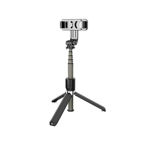 Monopiedi pieghevoli treppiede senza fili in lega di alluminio Bluetooth 4.0 L03 monopiede per fotocamera Gopro SmartPhones