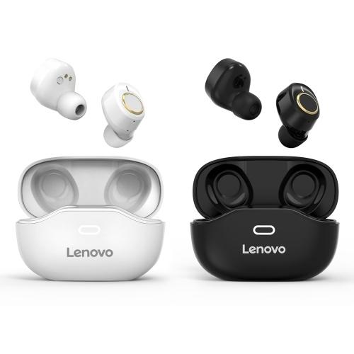 Lenovo X18 Wireless Earphone BT 5.0 Headphone Sports Waterproof Earbuds In-ear Wireless Headphone Black