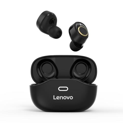 Lenovo X18 Auriculares inalámbricos BT 5.0 Auriculares deportivos Auriculares impermeables Auriculares inalámbricos en la oreja Negro