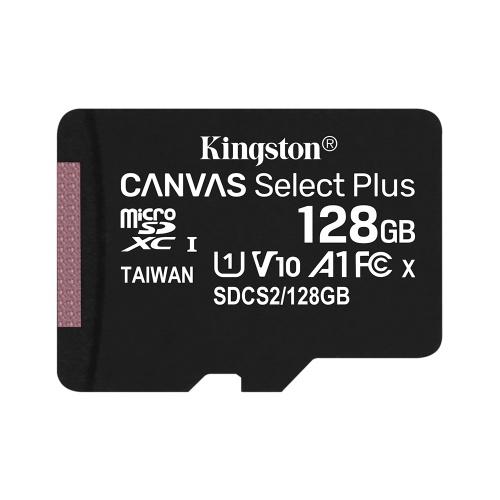 Kingston 128GB 100MB/s SDCS2 Class10 UHS-1 U1 V10 A1 Micro SD TF Card Memory Card