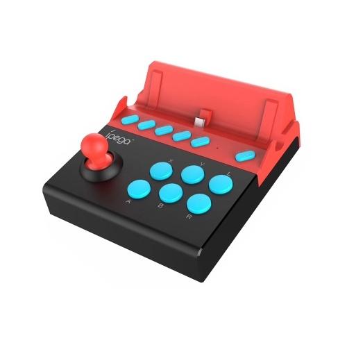 IPEGA PG-9136A Arcade Game Joystick Single Rocker Mini Portable Gamepad Controller for Switch Accessories Console Red&Black