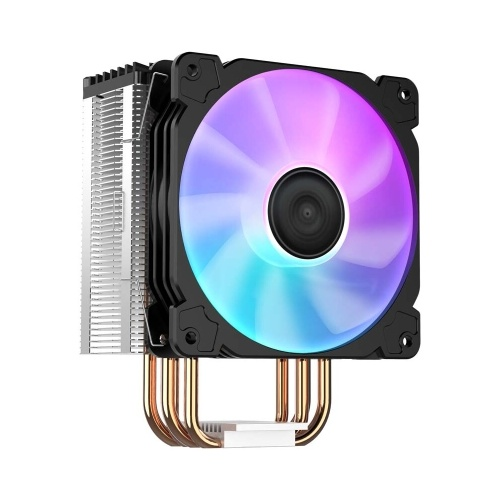 Jonsbo LED CPU Radiator CPU Cooling Fan 4 Heat Pipes Tower CPU Cooler CR-1000(Colorful) for Intel LGA1200/Intel 1151/AMD AM4/FM2+