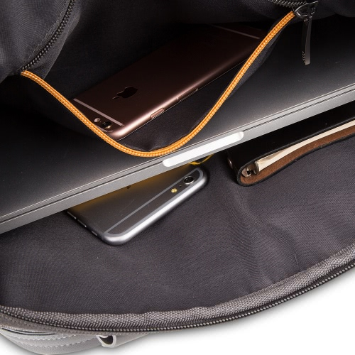 "KKmoon Zipper Portable Business Briefcase Carrying Sleeve Bag Handbag 14"" inch for MacBook Ultrabook Laptop Notebook thumbnail"